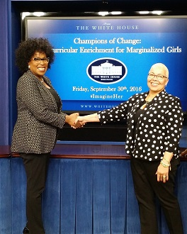 White House Honor Humbles Youth Expert